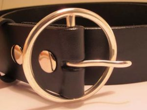 Custom Buckle On Belt by Kate Wilcox-Leigh