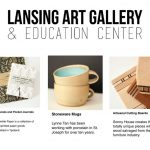 Lansing Art Gallery Valentines Gift Guide featuring Worthwhile Paper, Lynne Tan and Sonny House