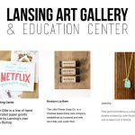 Lansing Art Gallery Valentines Gift Guide featuring Dear Ollie, The Little Flower Shop Co. also Fate and Coincidence