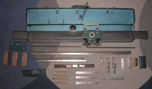 Brother KH 35 knitting machine from 1952