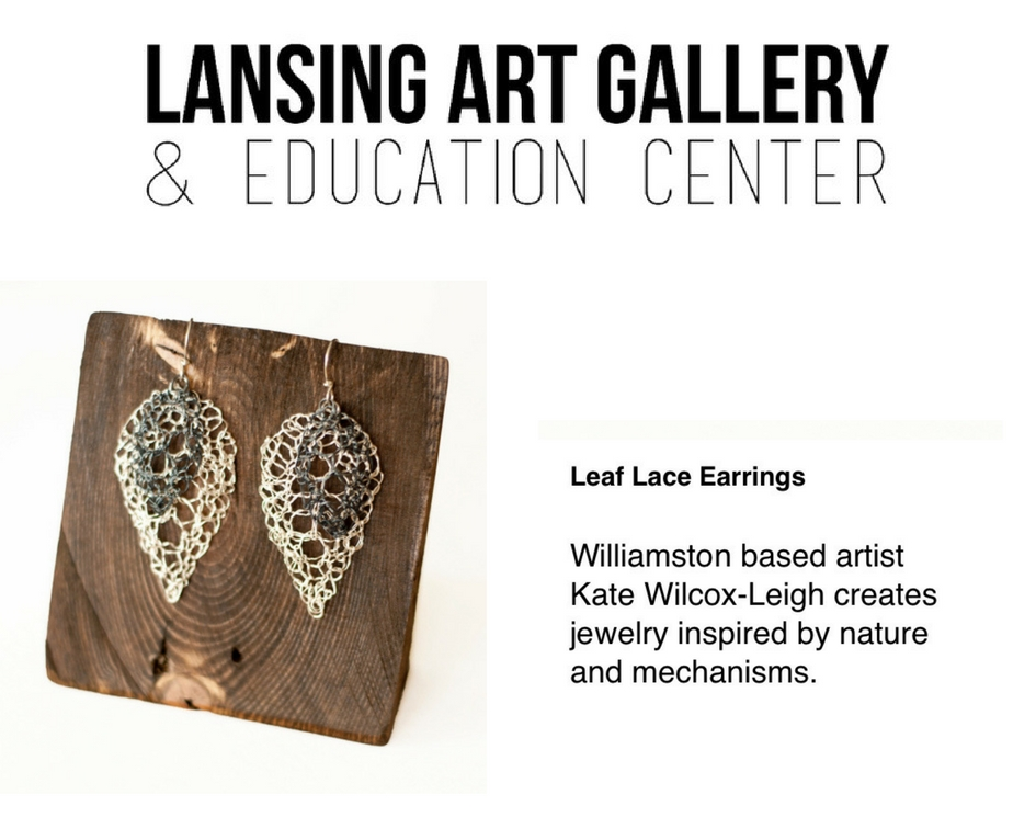 Lansing Art Gallery Valentines Gift Guide featuring work by Kate Wilcox-Leigh