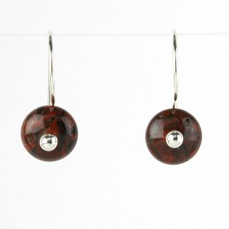 Kate Wilcox-Leigh Mahogany Obsidian Earrings 2018031