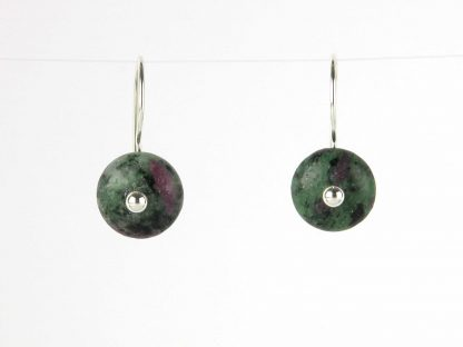 Kate Wilcox-Leigh Ruby Zoisite Earrings 2018029