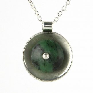 Kate Wilcox-Leigh Ruby Zoisite Pendant 2018030