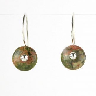 Kate Wilcox-Leigh Unakite Earrings 2018033