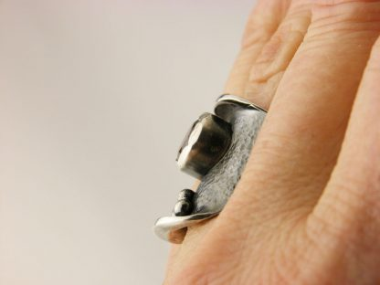 kate-wilcox-leigh-ring-sterling-textured-quartz-on-side