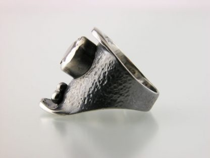 kate-wilcox-leigh-ring-sterling-textured-quartz-side