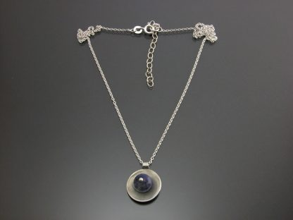 Kate Wilcox-Leigh Gem Spotlight necklace sterling sodalite 2018042